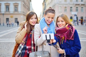 A hotel chain has started loaning guests selfie sticks.
