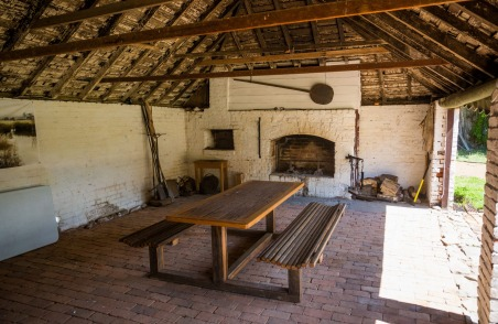 The convict kitchen at Redlands.
