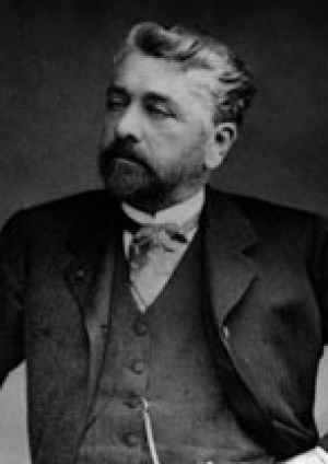 Gustave Eiffel, the engineer and architect behind the tower.