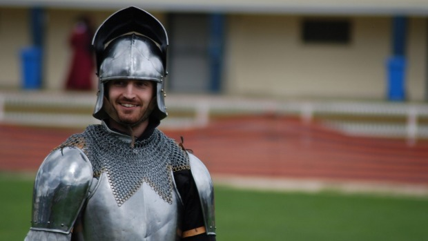 Medieval knights come to Ironfest.