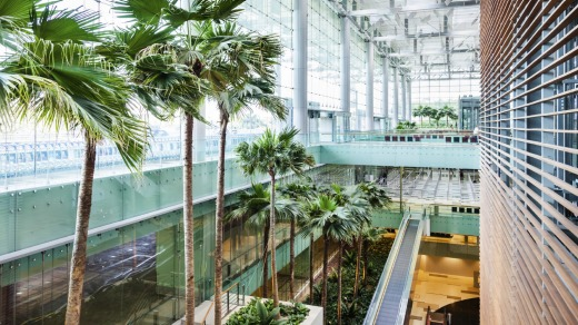 Singapore's Changi Airport, regulary rated as the world's best.  Photo: iStock