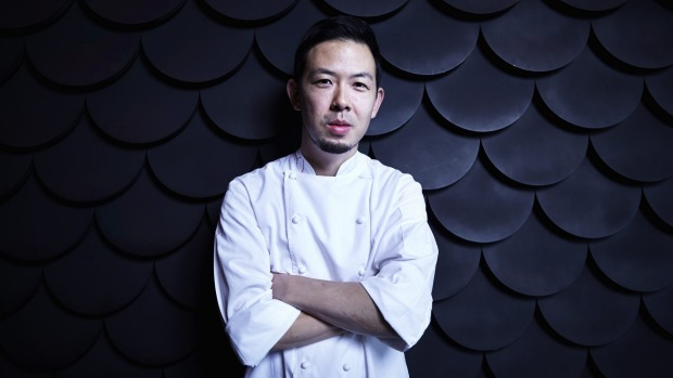 Tokyo never sleeps: Chef Chase Kojima enjoys stopping for quick bites on his bicycle ride home.