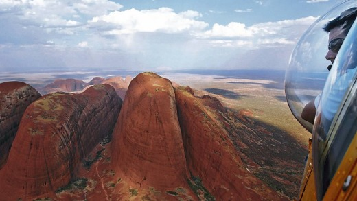 PHS helicopter tours over Uluru and Kata Tjuta offer spectacular views.