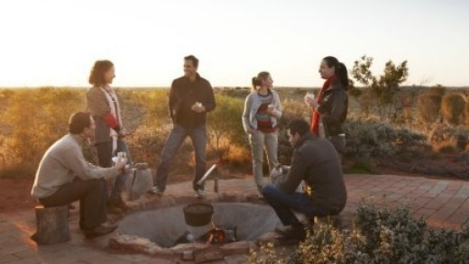 Watch the sunrise and have a bushman's breakfast on the Desert Awakenings tour.