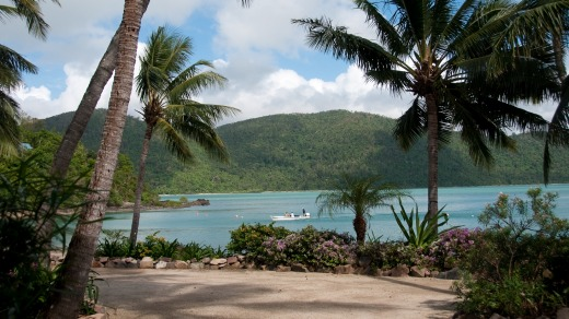 Palm Bay Resort in the Whitsunday Islands.