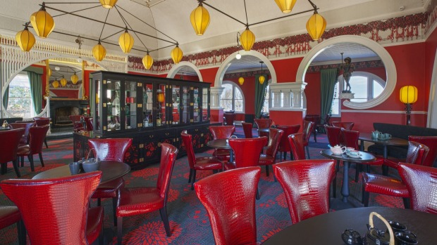 The Salon du The (tearoom): Here the look is Old Shanghai, this time a nod to Foy's fascination with all things ...
