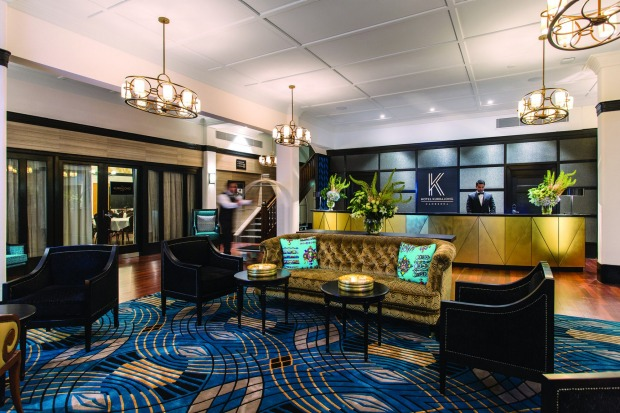 One of the best places to obtain a real sense of Canberra's heritage: Hotel Kurrajong.