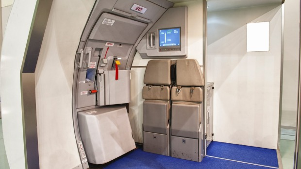 The mere presence of an axe in an aircraft cabin could constitute a security threat.