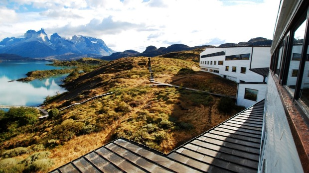 EXPLORA PATAGONIA, LAKE PEHOE, CHILE. It has arguably the best view of any lodge in Patagonia, looking out over Lake ...