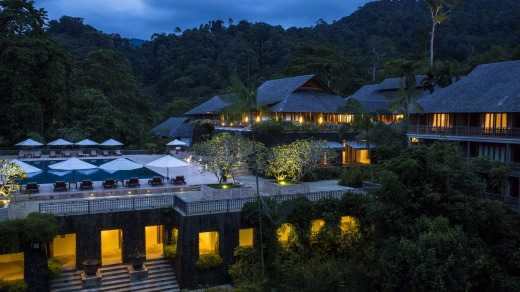 The Datai Langkawi has been designed to be enveloped by the surrounding rainforest that cascades from the mountains to ...
