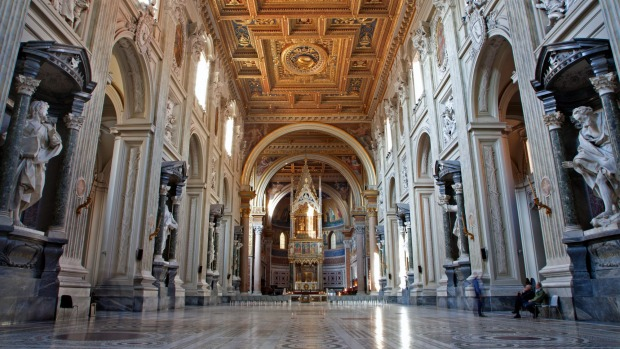 San Giovanni in Laterano  and underground: What is the cathedral of Rome? Nope, it's not St Peter's -  that stands on ...