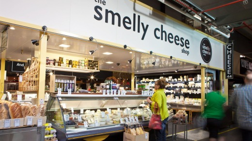 The Smelly Cheese Shop, Central Markets, Adelaide.