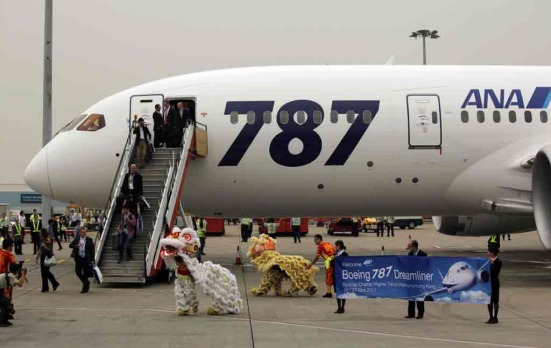 Dreamliner sets world records for speed, distance
