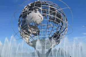 Tomorrow's world today: the Unisphere in Flushing Meadows, New York City.