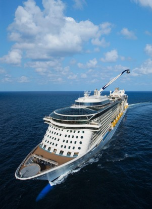 Ovation of the Seas, Royal Caribbean International: Australia will be the first home port for this billion-dollar mega-liner.