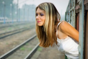 Train travel is relatively nag-free: you don't have to fasten your seatbelt, you can open a window and you can listen to ...