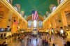 Train stations are more beautiful than airports: take a look at Grand Central Terminal in New York City.