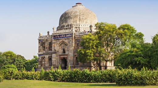Lodi Gardens, an architectural work of the 15th century.