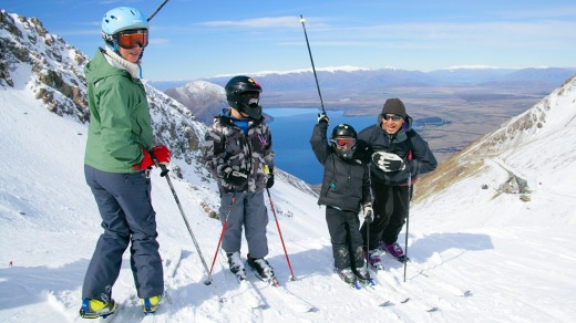 Family-friendly: Lake Ohau Lodge and Resort, New Zealand.