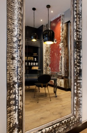 Hotel Eugene en Ville: The ground-floor Cantine d'Eugene is what really gives this hotel style with its neo-industrial ...