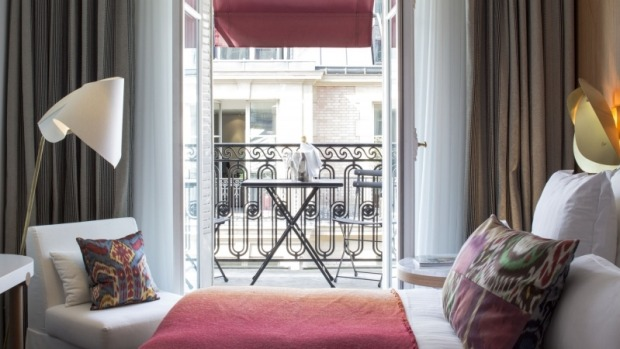 Hotel Vernet: Behind its Haussmannian facade, the century-old Vernet has moved from a status of neglected dowager to a ...