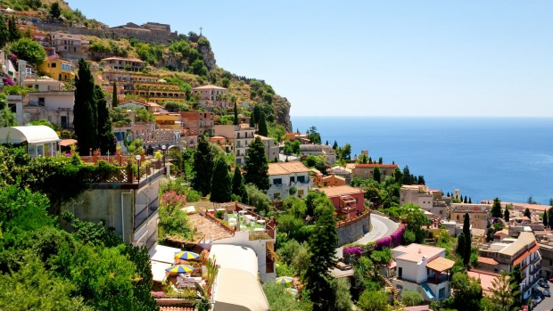 Taormina, Italy: If you could possibly pick a downside to staying in this Sicilian village, it's that the beach ...