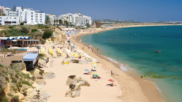 Armacao de Pera, Portugal: Sometimes this little place in the Algarve region can feel a bit resorty, in that the beaches ...
