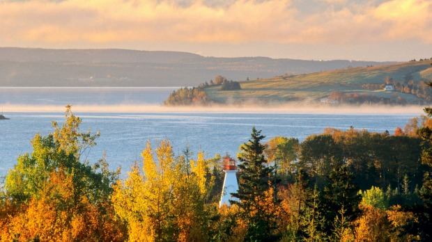 Baddeck, Canada: The water might be a bit chilly in Nova Scotia, in the far east of Canada, but that's more than made up ...