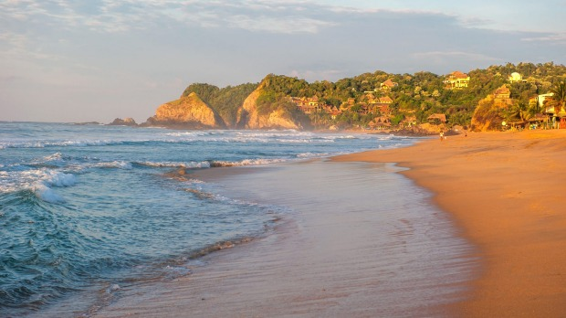 Zipolite, Mexico: This little coastal town in the state of Oaxaca is many things, but crowded it ain't. You'll be lucky ...