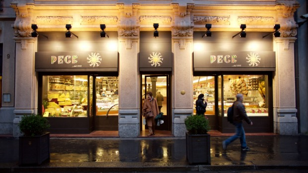 The Peck Providores in Milan.