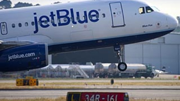 A JetBlue flight was stuck on the tarmac for seven hours.