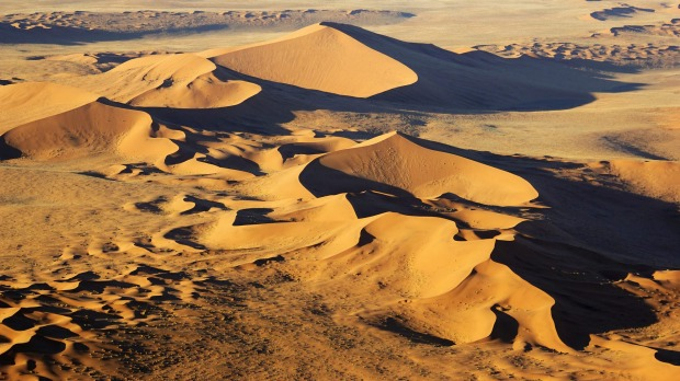 The world's oldest desert: The Namib Desert.