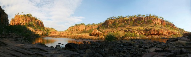 Katherine Gorge, Northern Territory: Paddle into a classic slice of outback scenery. The centrepiece of Nitmiluk ...
