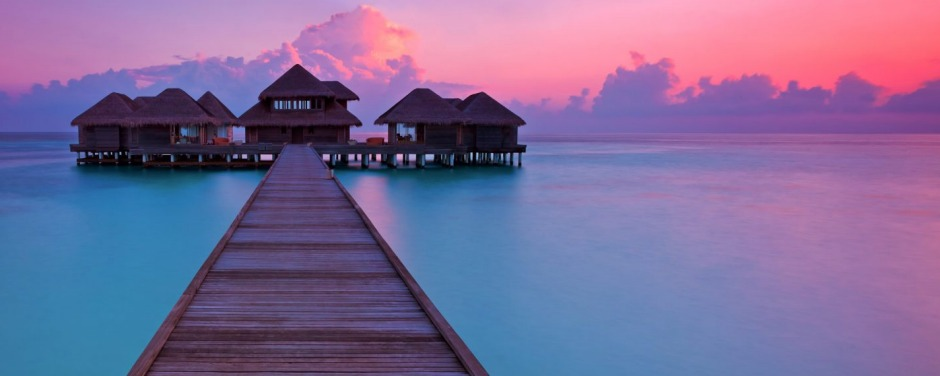 The world's first underwater spa is in the Maldives, at Huvafen Fushi resort.