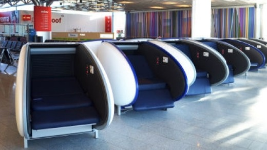Helsinki has become the third airport after Abu Dhabi and Dubai to install sleeping pods for travellers in transit.