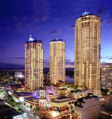 Number 1: The Towers of Chevron Renaissance, Gold Coast - 707 rooms.