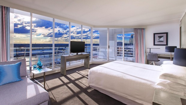 Number 3: Four Points by Sheraton, Darling Harbour, Sydney - 630 rooms.
