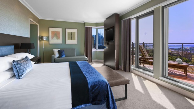 Number 7: Sheraton on the Park, Sydney - 557 rooms.
