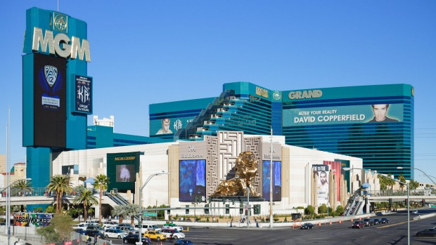 Don't get lost in the MGM Grand - it has 6,852 rooms.