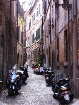 Throw yourself into the rhythm of the city: Rome.