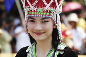 Laos may rank as the 98th happiest country, but tourists will always receive a warm welcome there.