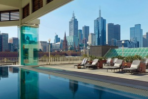 The Jacuzzi at The Langham.