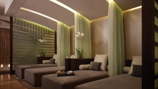 Relaxation room at the Chuan Spa.