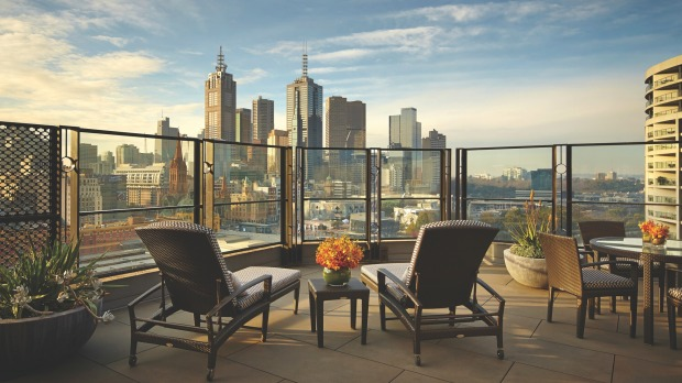 The terrace, Terrace Room, The Langham.