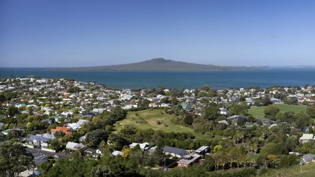 Rangitoto Island in the Hauraki Gulf is an extinct volcano.