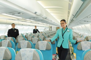 The friendly cabin crew are what make Air Tahiti Nui airlines memorable.