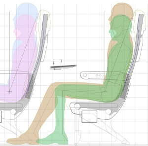 The new seats are designed to reduce muscle fatigue.
