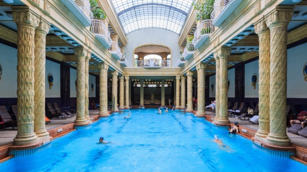 GELLERT: First opened in 1918, this beautiful indoor art nouveau complex trumps all others aesthetically. With high ...