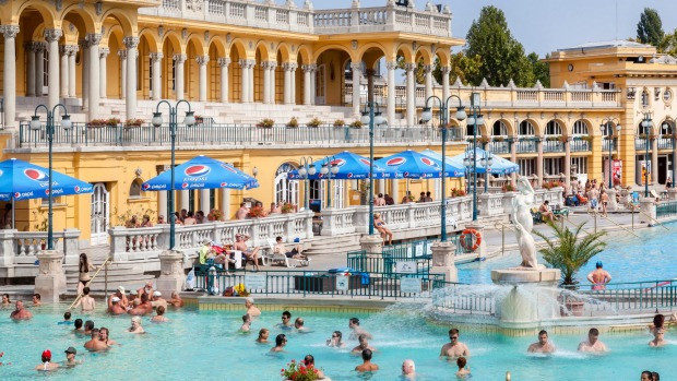 SZECHENYI€‹: More than a century old, this vast, open-air bathhouse has long been a favourite with locals. Comprising ...