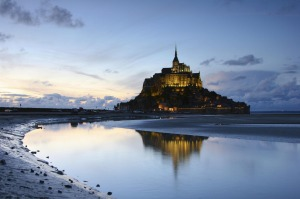Mont St Michel, France.